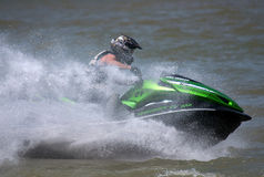 Jet Ski driver-1 Stock Photography