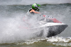 Jet Ski driver-4 Royalty Free Stock Images