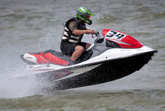 Jet Ski driver-3 Royalty Free Stock Photos