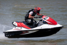 Jet Ski driver-7 Stock Photos
