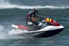 Jet Ski driver Fabio Incorvaia Stock Photo