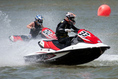 Jet Ski drivers Royalty Free Stock Image
