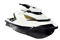 Jet ski front view isolated Stock Image