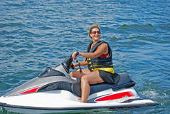 Free Jet Ski Fun2 Royalty Free Stock Photos - 8082838