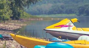 Jet Ski im Sommer Lizenzfreie Stockfotos