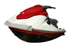 Jet ski isolated Stock Image
