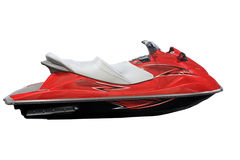 Jet Ski. Isolated on a white background Stock Photo