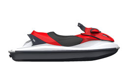 Jet Ski. Isolated on White Background. 3D render Royalty Free Stock Image