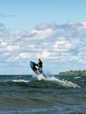 Jet ski Jump Stock Image