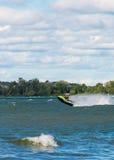 Jet ski Jumping Royalty Free Stock Images