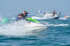 Jet Ski King's Cup World Cup 2009 at Pattaya Stock Photos