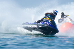 Jet Ski King's Cup World Cup 2009 at Pattaya royalty free stock image
