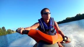 Jet ski stock video