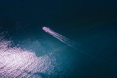 Jet ski in mare fotografie stock