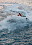 Jet ski men showed Royalty Free Stock Images