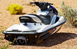 Jet Ski na terra Fotografia de Stock