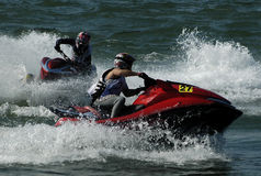 Jet Ski Race-13 Royalty Free Stock Photos