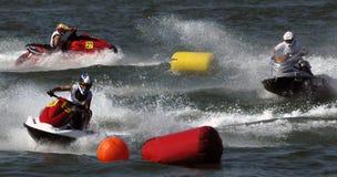 Jet Ski Race-14. BELGRADE - AUGUST 16:IJSBA EUROPEAN ENDURANCE CHAMPIONSHIP Stock Photos