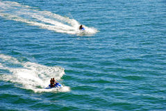 Jet ski race Stock Images
