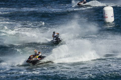 Jet ski race competition Stock Photography