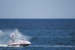 Jet ski race competition speed Royalty Free Stock Photo