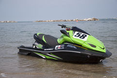 Jet Ski race Stock Photo
