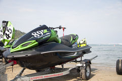 Jet Ski Race Royalty Free Stock Photo