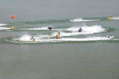 Jet-Ski race Stock Photo