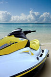 Jet ski ready to go Royalty Free Stock Photos