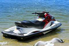 Jet ski rear view Stock Photography