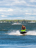 Jet ski riders royalty free stock photography