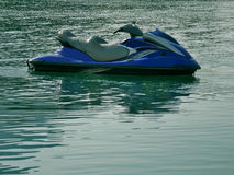 Jet ski on river Royalty Free Stock Images