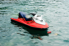Jet ski    on the sea Royalty Free Stock Photos