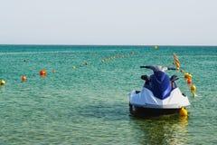 Jet ski in the sea Stock Image