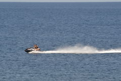 Jet ski at sea Stock Photos