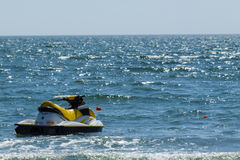 Jet ski on sea Stock Images