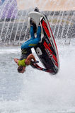 Jet Ski Show dans l'Australie de la Gold Coast Queensland du monde de mer Photo stock