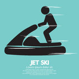 Jet Ski Sport Sign Fotos de archivo libres de regalías