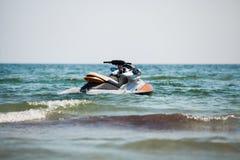 Jet ski in water Royalty Free Stock Photos