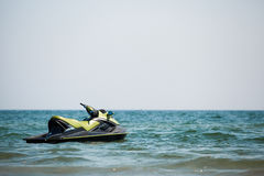 Jet ski in water Royalty Free Stock Images