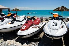 Jet ski watersport Royalty Free Stock Photography