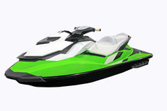 Jet Ski. On a white background Royalty Free Stock Image