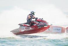 Jet Ski World Cup 2017 em Tailândia Fotografia de Stock Royalty Free