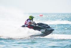 Jet Ski World Cup 2017 em Tailândia Imagens de Stock Royalty Free