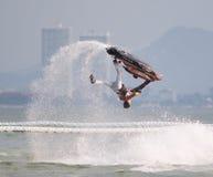 Jet Ski World Cup 2014 en Tailandia Imágenes de archivo libres de regalías