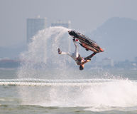 Jet Ski World Cup 2014 i Thailand Royaltyfria Bilder