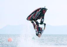 Jet Ski World Cup 2014 i Thailand Royaltyfri Bild