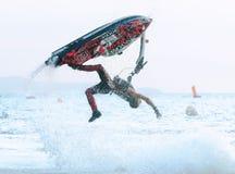 Jet Ski World Cup 2014 i Thailand Arkivbilder