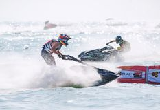 Jet Ski World Cup 2017 in Tailandia Fotografie Stock