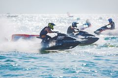 Jet Ski World Cup 2017 in Tailandia Immagini Stock